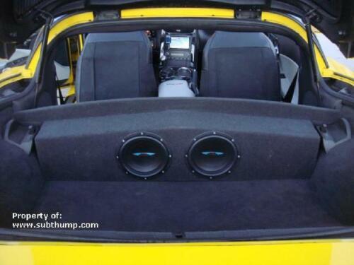 2005-2013 C6 Corvette Coupe Dual 8 Partition Subwoofer Enclosure by Subthump