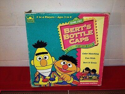 Bert's Bottle Caps Sesame Street Game Color Matching 1994](Bert Bottle Caps)