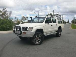 2003 Toyota Hilux 4x4 Dual Cab- Automatic- Finance options Beenleigh Logan Area Preview