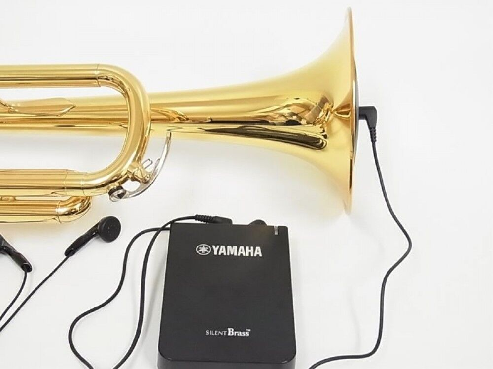 yamaha sb7x silent brass mute system for trumpet cornet. Black Bedroom Furniture Sets. Home Design Ideas