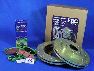 Disc Brake Pad and Rotor Kit Front EBC Brake S3KF1180 fits 06-12 Toyota RAV4