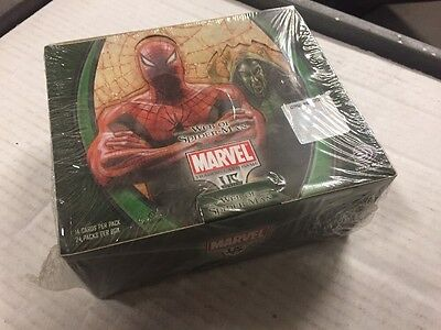 VS System TCG CCG Marvel Web Of Spider-man 24-pack Booster Box lot LOose packs