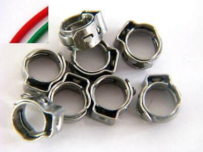 8 - Mini Hose Crimps For Micro Jewelers Oxygenacetylene Welding Torch