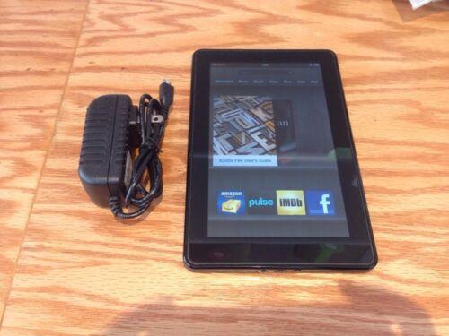 Amazon Kindle Fire 8GB, Wi-Fi, 7in - Black - Good Condition