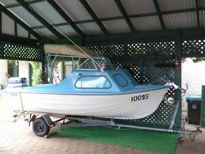 Skimmer by Dealtry Seamaster 15ft Fishing/skiing/family boat Walkerville Walkerville Area Preview