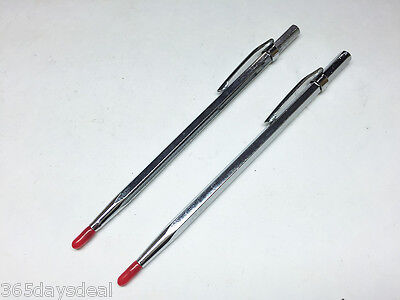 2pc Carbide Scribe Marking Etching Measuring Tool On Metal Glass