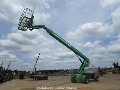 2011 Genie S-85 85 4wd Diesel Telescoping Boom Lift Man Generator Jib Bidadoo