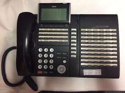 Nec Dtl-32d-1 Dt300 Series Model Dlvxdz-y Wdcl-60-1 Bk Console