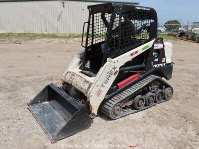 2015 Terex R070t Skid Steer Track Loader Crawler Perkins Diesel Bidadoo