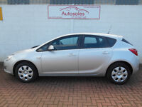 VAUXHALL ASTRA EXCLUSIV (silver) 2012