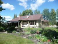 Sundre Acreage With Executive Class Home