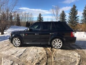 2008 Range Rover supercharged sports model
