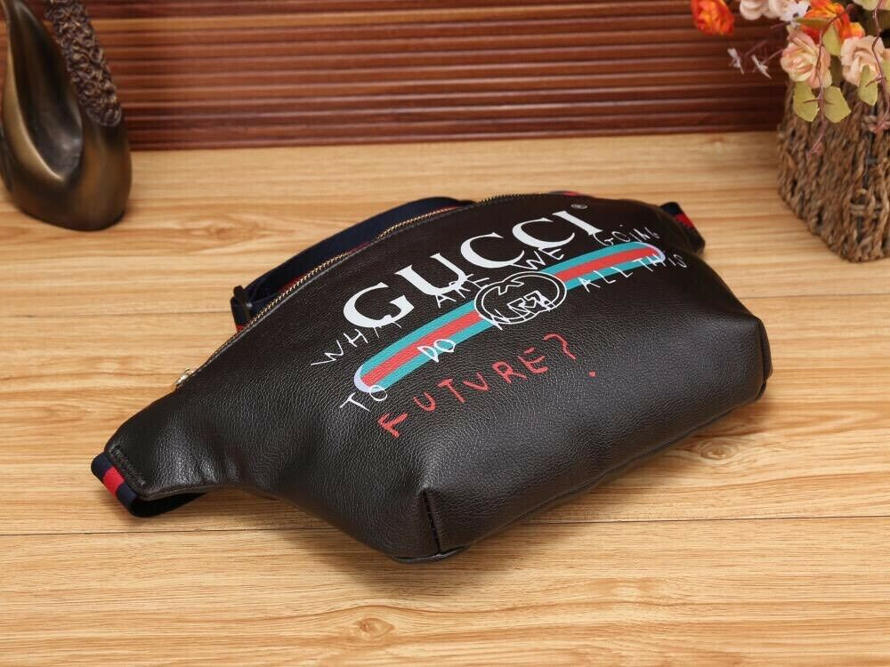 5e88255e9eae75 Gucci Graffiti Print Large Bum bags | in Headington, Oxfordshire ...