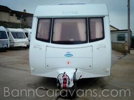 (Ref: 882) Coachman Amara 520 4 Berth Touring Caravan With Motor Mover Included!