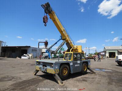 2003 Grove Yb4408 17000 Lbs Carry Deck Crane 24 Boom Cab Diesel Repair