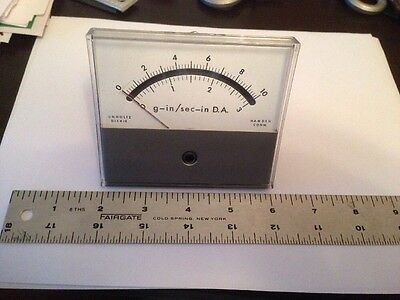 Unholtz Dickie Honeywell Panel Meter Gs In Sec - D.a. Used