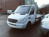 2011 MERCEDES 313 RECOVERY TRUCK WITH A BRAND NEW ALUMINIUM BODY AND RAMP'S READY FOR WORK PX & SWAP