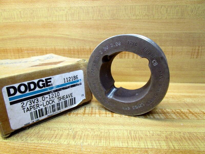 Dodge 112186 Sheave 2/3V3.0-1210