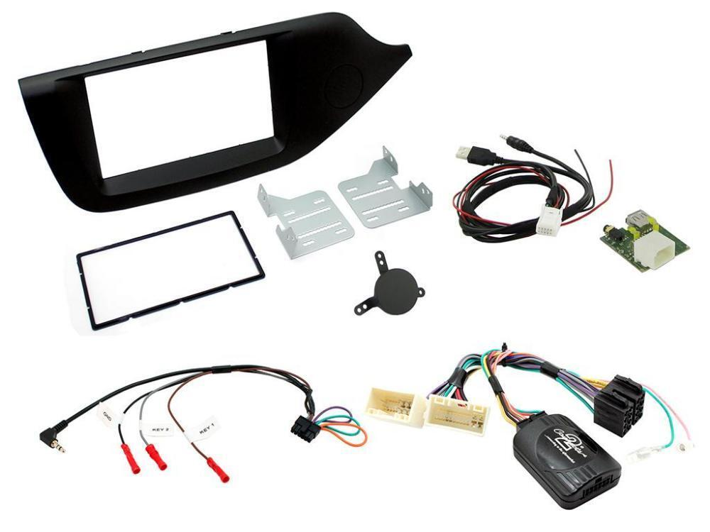 Connects2 CTKCT03 Citroen C3 09 on Double Din Car Stereo Complete Fitting Kit
