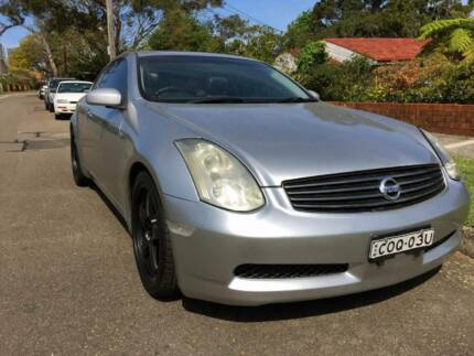 Nissan Skyline 350GT/Infiniti G35 Coupe Auto Low Ks Premium Sydney City Inner Sydney Preview