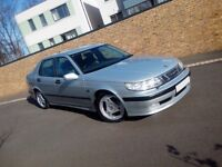 SAAB 9-5 95 SE 2.0 TURBO MANUAL SALOON, LOW MILES, EXCEPTIONAL CONDITION