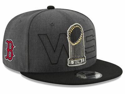 Boston Red Sox '18 MLB World Series Champions Trophy 9FIFTY Snapback Cap Hat Lid