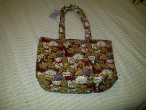 Hand Crafted Diaper Bag - New