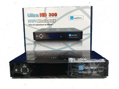 New Jynxbox Jyazbox ultra HD V300 FTA Satellite Receiver +JB200 + HDMI+WIFI USB
