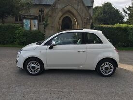 FIAT 500 LOUNGE DUALOGIC (white) 2010