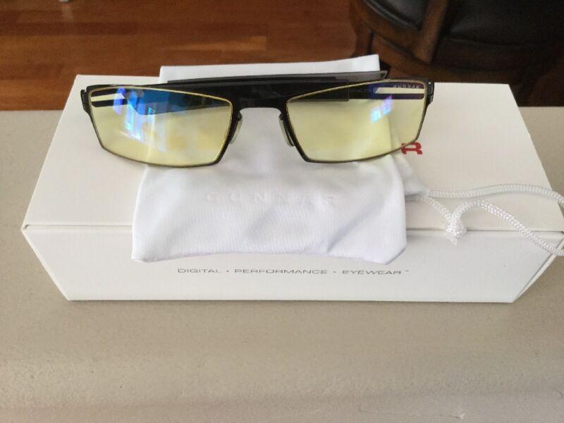 Gunnar Optiks Paralex Unisex Gaming Glasses Onyx/Mercury