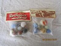 Gratis Dr.PEPPER and HIRES ROOT BEER Marbles