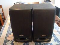 2 Haut-parleurs Technics SB-CH90T  SBCh90T - 140 watts input