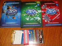 3 - 39 Clues books