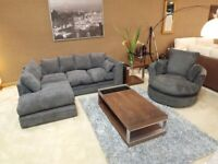 DYLAN JUMBO CORD OR 3+2 SEATER SOFA SET AVAILABLE IN STOCK