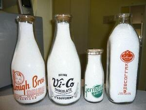 Attention!! Best Price Paid, For Local, Old, Milk Bottles!!!!!!