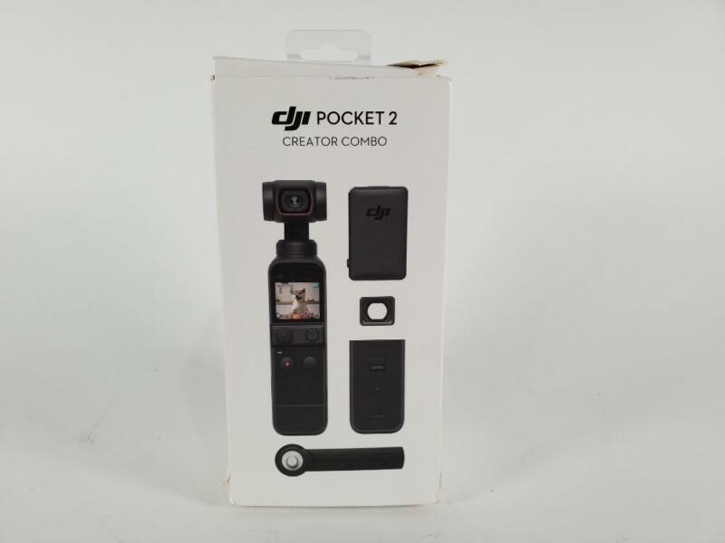 DJI Pocket 2 Creator Combo - 3 Axis Gimbal Stabilizer 4K (Preowned)