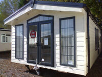 Static caravan BRAND NEW 2017 35 x 13 ft / 2 bedrooms, DG & CH, Delta Tortworth