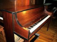 Mahogany Apartment Size Piano