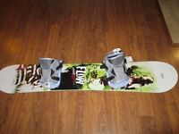 Brand new Flow Snowboard with Bindings - 146 cm