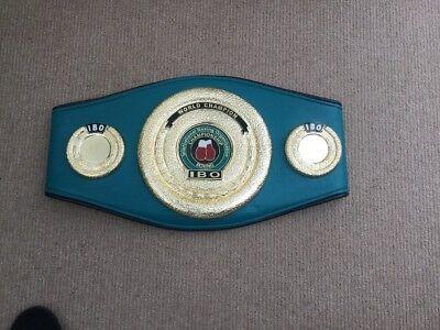 IBO boxing belt