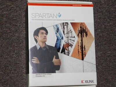 Xilinx Spartan-6 Fpga Sp605 Evaluation Kit New In Box Complete