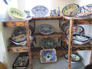 MEXICAN TALAVERA PAINTED SINKS