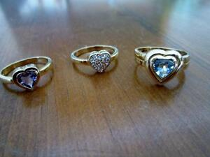 Four Sterling Silver Rings, Individual or Pair Can be Nested Kitchener / Waterloo Kitchener Area image 4