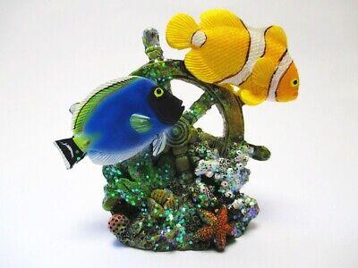 Clownfisch Drückerfisch Meer Salzwasserfisch Fisch Figur Aquarium
