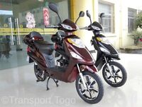 ELECTRIC SCOOTER - MOPED - BIKE 48V 250W BRAND NEW FREE SPARES PACKAGE.