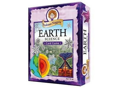 PROFESSOR NOGGIN'S EARTH SCIENCE CARD GAME TOY KIDS LEARN SKILL HOBBY NOVELTY  Earth Science Card Game