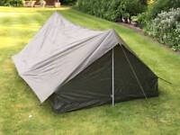 NEW Tents For French Military Use - 2 Person - Military / Olive Green - BEST ONLINE PRICE