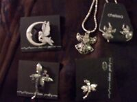Pewter fairy themed necklace, pins & other themes available