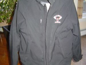 Hockey jacket (Halifax Hawks (old logo) on left front)