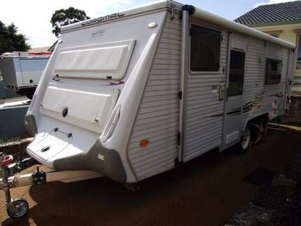 COROMAL CORVAIR 604 POP TOP TANDEM 20 ft READY TO GO Greenwood Joondalup Area Preview